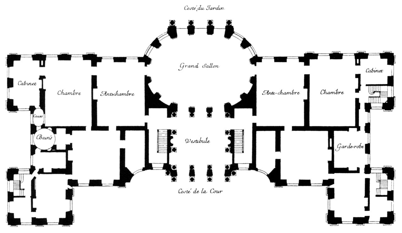 File plan of vaux le vicomte harris 2005 for Floor wikipedia
