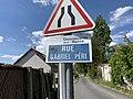Plaque Rue Gabriel Péri - Chennevières-sur-Marne (FR94) - 2021-05-07 - 2.jpg