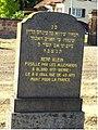 Plaque commémorative Klein Félix René au cimetière juif de Niederroedern.jpg