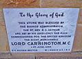 Plaque stonework ainslie church ACT.jpg