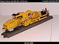 Plasser & Theurer USP 2000 SWS DB Bahnbau Kibri 16060 Modelismo Ferroviario Model Trains Modelleisenbahn modelisme ferroviaire ferromodelismo (9856278866).jpg