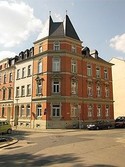 Humboldtstraße in Plauen