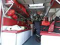Plavení na Labi-Statické ukázky B11. Hasičské záchranné vozidlo, interiér 5.jpg