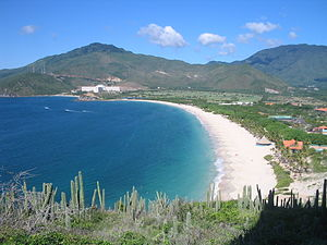 Caribbean - Puerto Cruz beach in Margarita Island, Venezuela