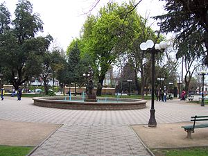 Linares, Chile - Main Square, Linares, Chile