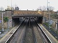 Plumstead station high eastbound.JPG