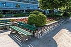 Poertschach Johannes-Brahms-Promenade Blumenstrand Buchsbaumfigur 27052017 8907.jpg