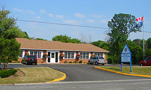 Point Edward, Ontario - Municipal office