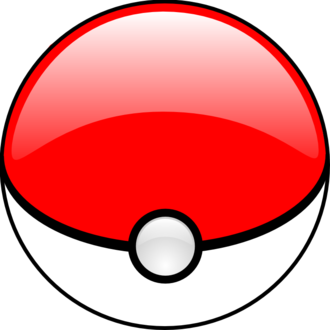 Gameplay of Pokémon - The standard Poké Ball is a well-known icon of the Pokémon franchise.