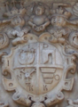 Polish coats of arms in Olesko castle entrance.PNG