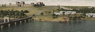 Pons Aelius Roman settlement in northern England