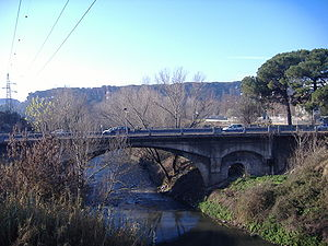 Ponte Salario - The current bridge