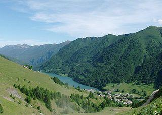 Pontechianale Comune in Piedmont, Italy