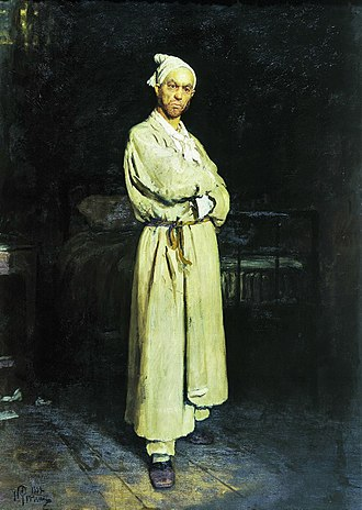 Diary of a Madman (short story) - Poprishchin. Painting by Ilya Repin (1882)