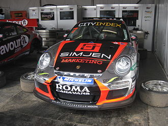 Alex Davison - Davison contested the 2012 Australian Carrera Cup Championship in this Roma Caravans entry