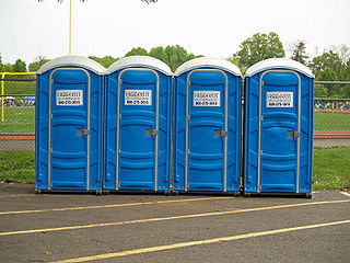 Chemical toilet A toilet that collects human excreta in a holding tank and uses chemicals to minimize odors