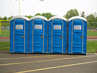 Chemical toilet - A line of portable chemical toilets
