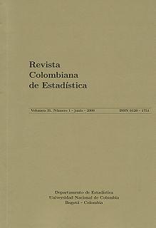 <i>Revista Colombiana de Estadística</i> 1968 scientific journal