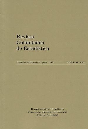 Revista Colombiana de Estadistica - Image: Portada 150