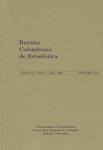 Revista Colombiana de Estadística - Image: Portada 150