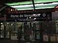Porte de Versailles Tramway T3a Plaque signalétique by night 2018.jpg