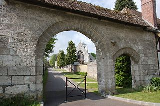 La Saussaye Commune in Normandy, France