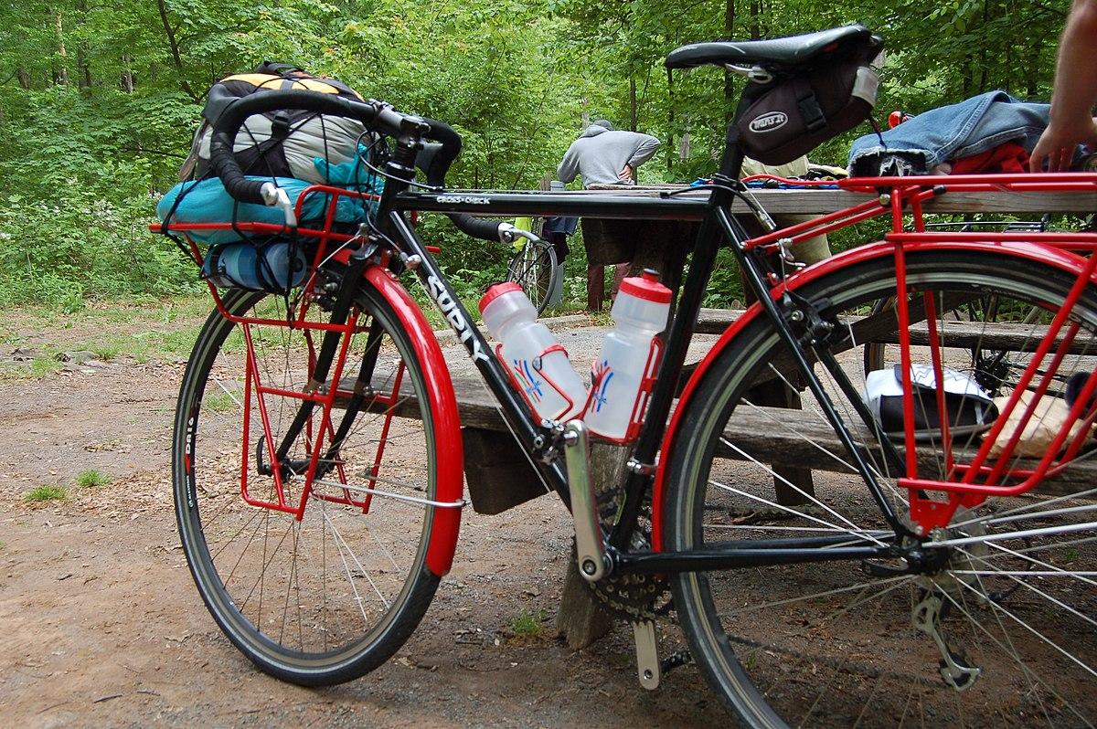 Pannello Solare Per Bicicletta : Cicloturismo wikipedia la enciclopedia libre