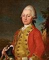 Porträt eines Berner Dragoners in Uniform aus dem 18. Jahrhundert.jpg