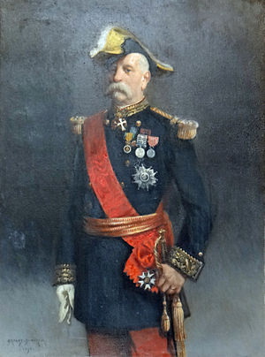 Commemorative medal of the 1859 Italian Campaign - General Victor Février, a recipient of the Commemorative medal of the 1859 Italian Campaign