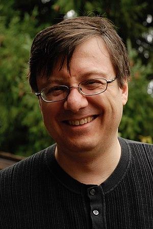 Wolfgang Baur - Portrait of author, game designer, editor, publisher Wolfgang Baur, taken November 28, 2009.