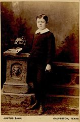 Portrait of boy by Justus Zahn of Galveston Texas.jpg