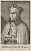 Portret van de jezuïet Jacobus Laynez Portretten van generaal oversten van de jezuïeten (serietitel) Obrazy præpositorvm generalivm societatis Iesv (serietitel), RP-P-1910-4016.jpg