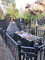 Post-2009 gravesite of Nikolai Gogol in Novodevichy Cemetery, Moscow, Russia.jpg