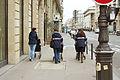 Postal workers, Rue Réaumur, Paris 6 February 2016.jpg