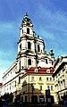 Prag – St.-Nikolaus-Kirche am Kleinseitner Ring - Mikuláše na Malé Straně náměstí - panoramio.jpg