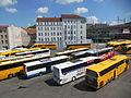 Praha, ÚAN Florenc-Dolní nádraží, z vlaku (01).jpg
