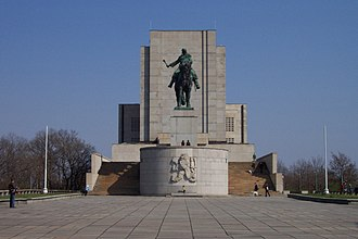 National Monument in Vitkov - The National Monument at Vítkov Hill