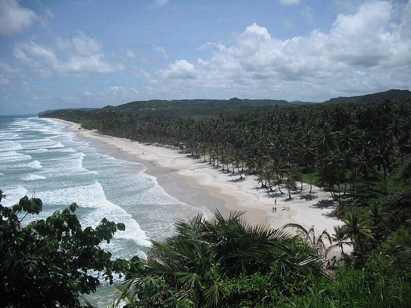 Ecoturismo no Brasil em praias do Nordeste