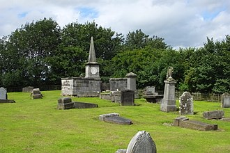 Methil - Site of the pre-Reformation Methil Parish Church, now part of Methilmill Cemetery.