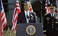President Barack Obama speaks during a remembrance ceremony at the Pentagon Memorial Sept 120911-D-NI589-583.jpg