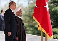 President Hassan Rouhani welcomes Turkish President Recep Tayyip Erdoğan in Saadabad Palace 01.jpg