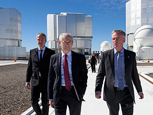President of the European Council - Image: President of the European Council, Herman Van Rompuy, during a visit to the Paranal Observatory