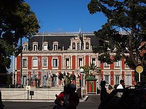 Presidential office in Antananarivo Madagascar