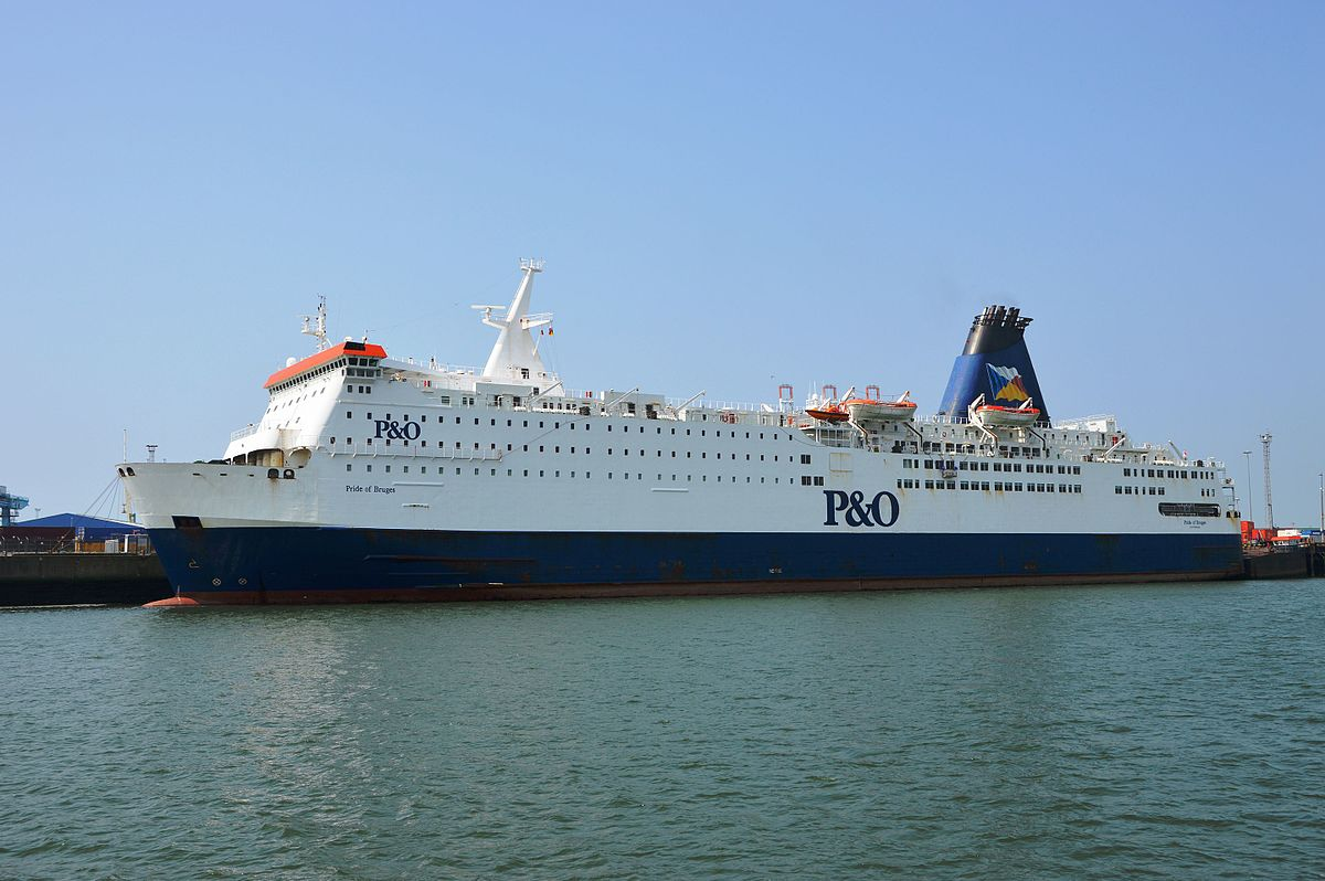 Ms pride of bruges wikipedia - Where is zeebrugge ferry port ...