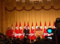Prime Minister of Canada Stephen Harper & Governor General of Canada Michaëlle Jean @ 2010 Vancouver Olympic Winter Games Heads of State Reception.jpg