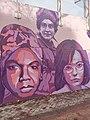 Primer plano mural (Nina Simone, Liudmila Pavlichenko, Billy Jean King).jpg