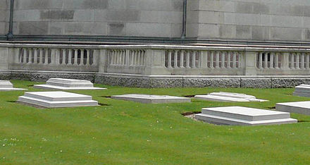Princess Louise's grave (centre) at the Royal Burial Ground at Frogmore Princess Louise's grave at Frogmore.jpg