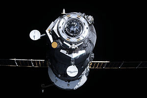 Progress M-10M - Progress M-10M departs the ISS on 29 October 2011.