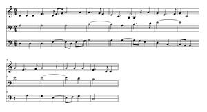 Missa L'homme armé super voces musicales - Image: Prolationcanonjosqui n