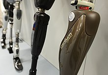Prosthetic Limbs at Headley Court MOD 45157827.jpg